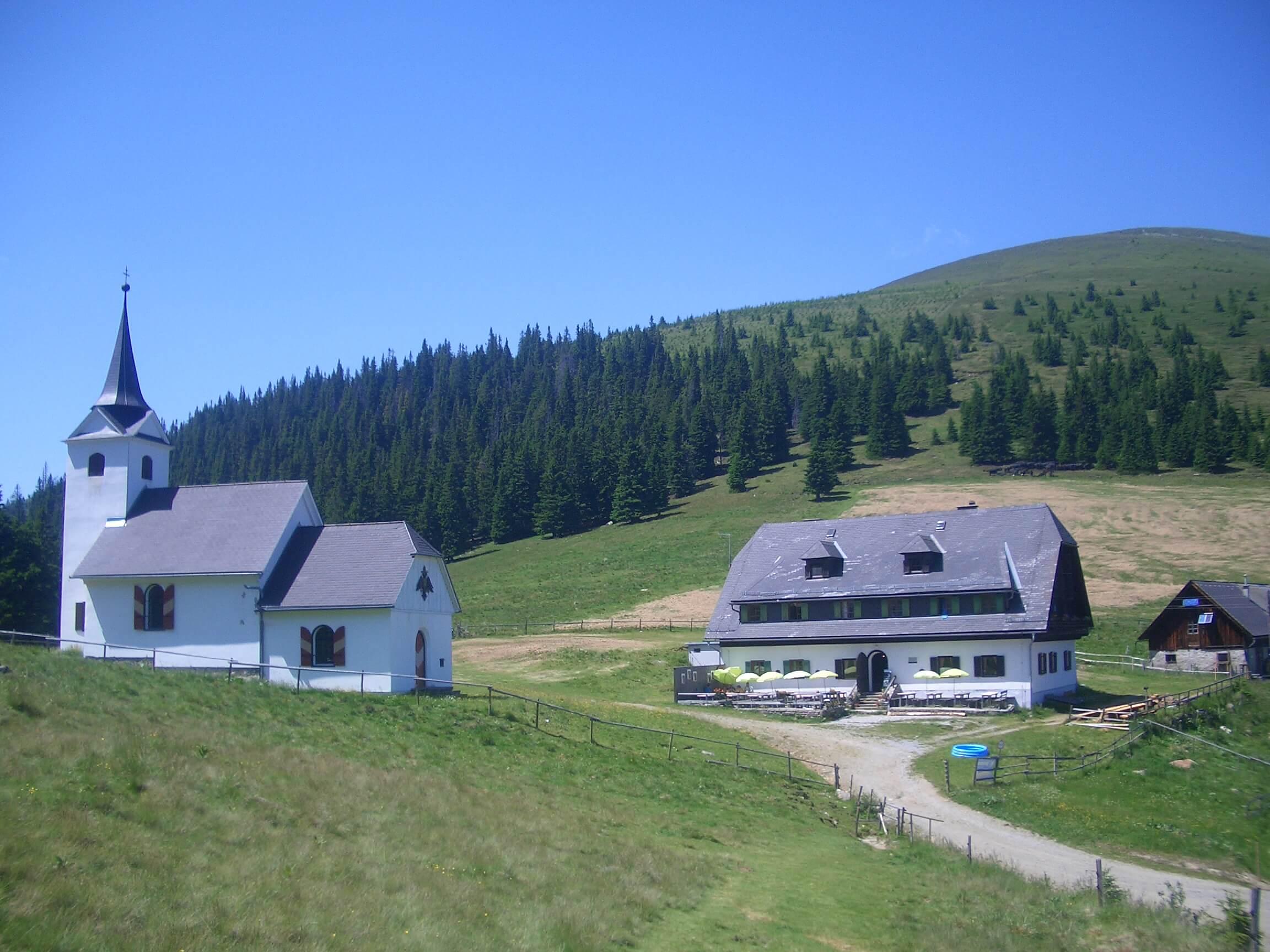 Maria Schnee und Gleinalm Schutzhaus