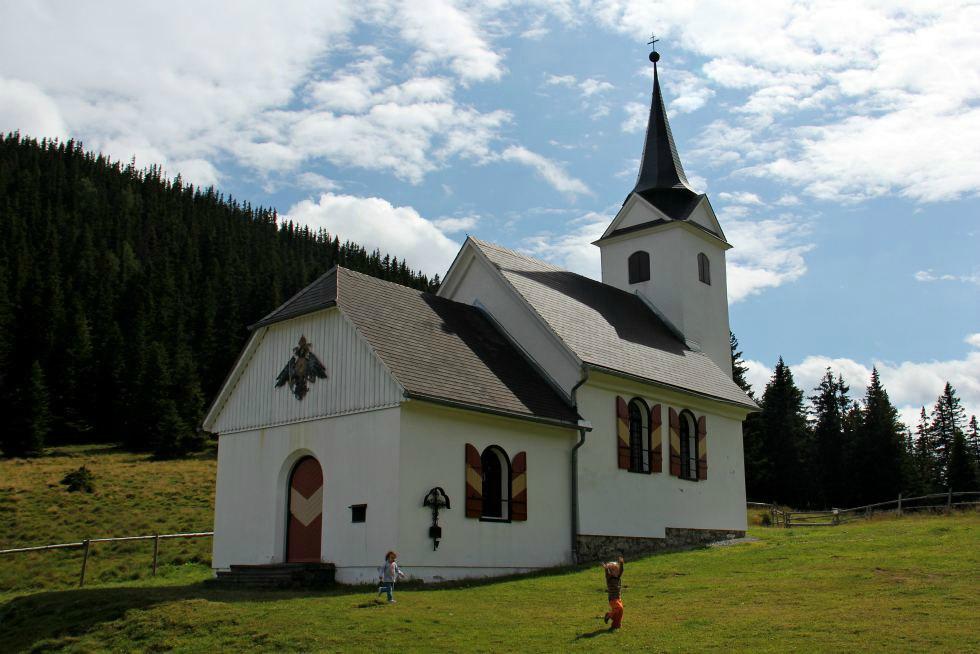 Wallfahrtskirche Maria Schnee auf der Gleinalm